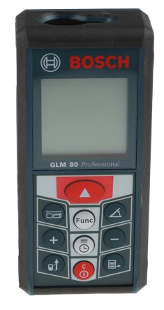 GLM 80 Laser Measure, 0.05 -> 80 m Range, ±1.5 mm Accuracy product photo