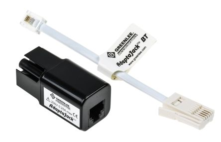 Greenlee Telecom Test Equipment RJ11 to BT Plug Adapter for Telecom Networks