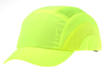 Canvas HDPE Yellow Short Peaked Safety Cap product photo