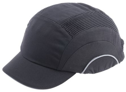 Canvas HDPE Black Short Peaked Safety Cap product photo