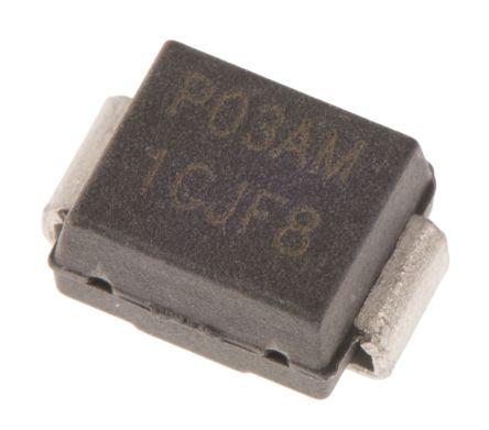 Littelfuse, P0300SAMCLRP, SIDAC, 25V 0.005mA, 2-Pin DO-214AA