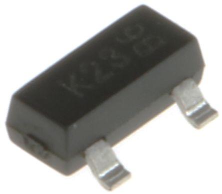 DiodesZetex Nチャンネル パワーMOSFET, 100 V, 170 mA, 3 ピン パッケージSOT