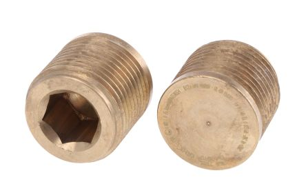 Stopping Plug Blanking Plug, Brass 20mm nominal size IP66 M20 product photo