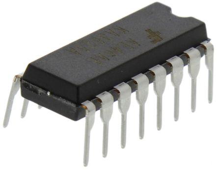 ON Semiconductor KA3525A Dual-Channel PWM Switching Regulator, 500 mA, 430 kHz, 2 V, 16-Pin, PDIP