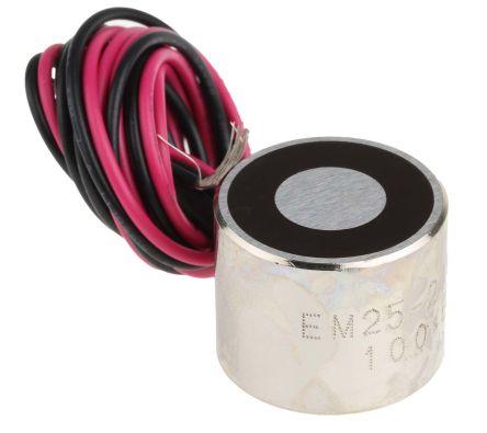 RS PRO Access Control Door Magnet, 150N, 24V dc