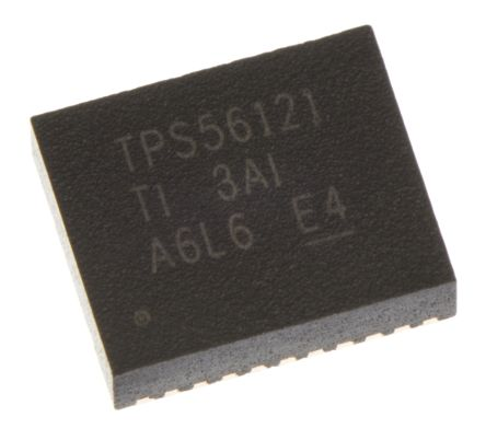 Texas Instruments, TPS56121DQPT Step-Down Switching Regulator, 1-Channel 15A Adjustable 22-Pin, PQFN