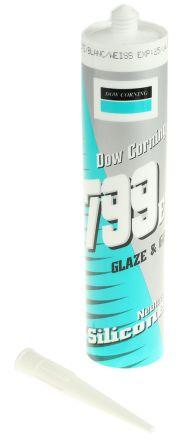 4068772 799 White Silicone Sealant Paste 310 ml Cartridge product photo