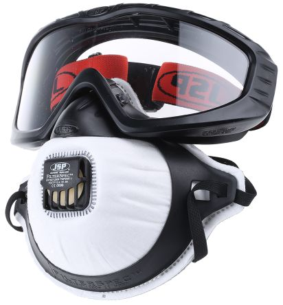 General Personal Protection Kit Containing Black Holder, Filter x 3, Goggles