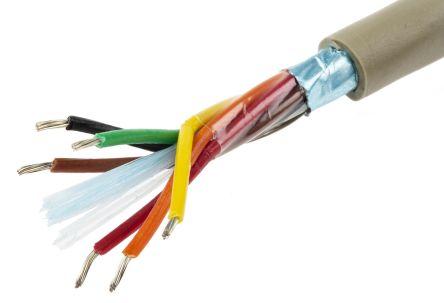 22 AWG Unshielded Multi-Conductor C /& C Alpha Wire 1172L SL005