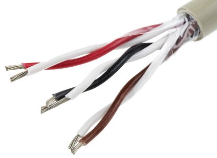 3 Pair Unshielded Multipair Industrial Cable 0.56 mm²(CE, CSA Certified, UL) Grey 50m PRO-TEKT™ Series product photo
