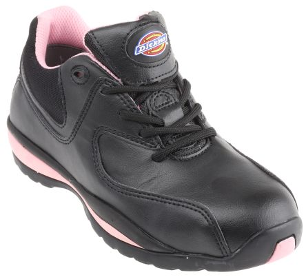Dickies Ohio Black/Pink Women Toe Cap