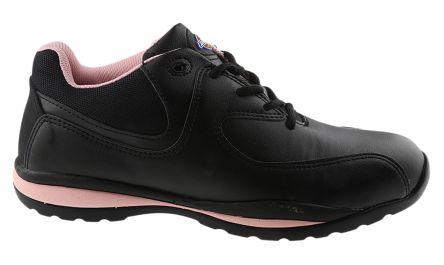 Pink Women Toe Cap Safety Shoes, EU