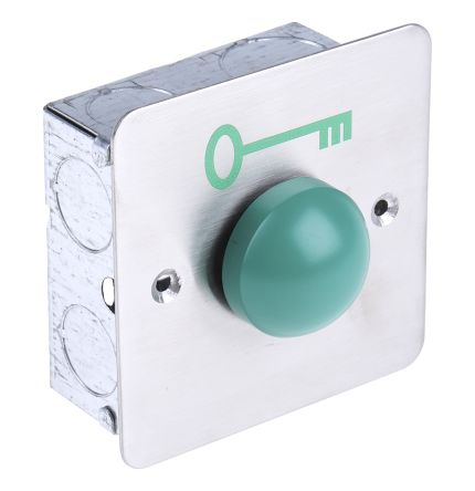RS PRO Stainless Steel Domed Push Button