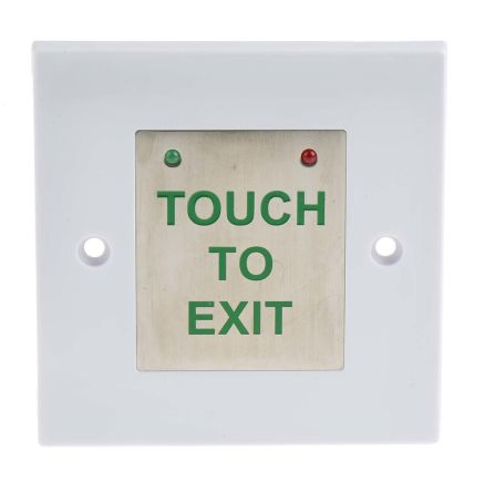 Touch sensitive door release