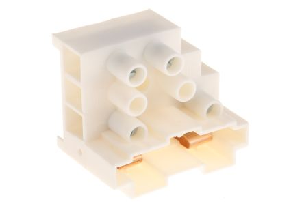 2 Way Fused Terminal Block, 20A 690 V,