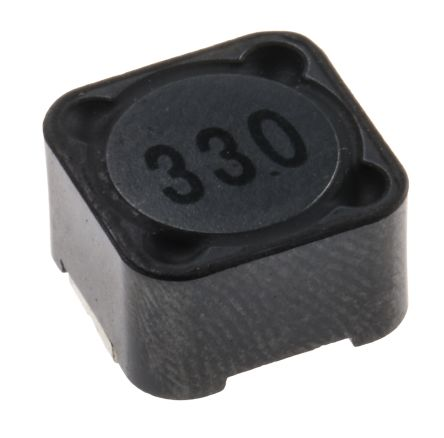 RS PRO, 27 Shielded Wire-wound SMD Inductor 33 μH ±20% Wire-Wound 3A Idc