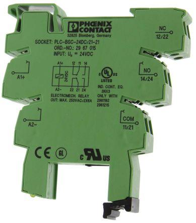 2967015 plc terminal block rs componentsTerminal Relay Phoenix #21