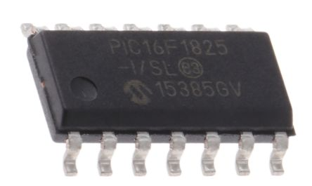 Microchip PIC16F1825-I/SL, 8bit PIC Microcontroller, 32MHz, 14 kB Flash,  14-Pin SOIC
