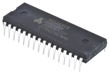 Alliance Memory, AS6C4008-55PCN SRAM Memory, 4Mbit, 55ns, 2.7 → 5.5 V PDIP 32-Pin