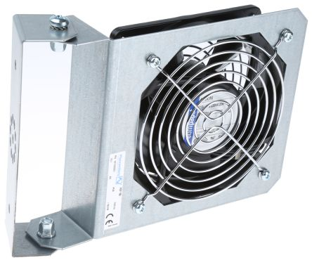 Pfannenberg Enclosure Fan Module, 180m³/h, 161mm, 115 V ac