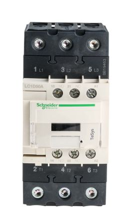 Schneider Electric LC1D50AU7 Контактор 50 А