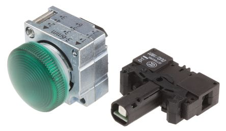 Siemens Luz Piloto, LED, Diámetro 22.3mm, IP66, 3SB3644-6BA40