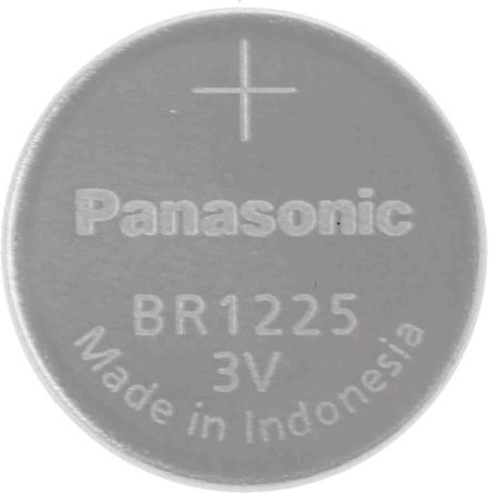 BR Button Battery, BR1225, 3V, 12.5mm Diameter product photo