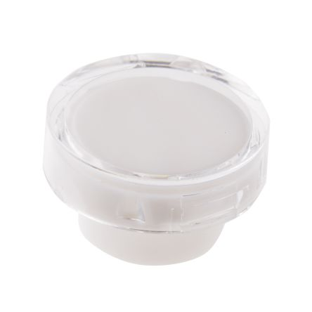 White Round Push Button Lens for use with ADA16 Series