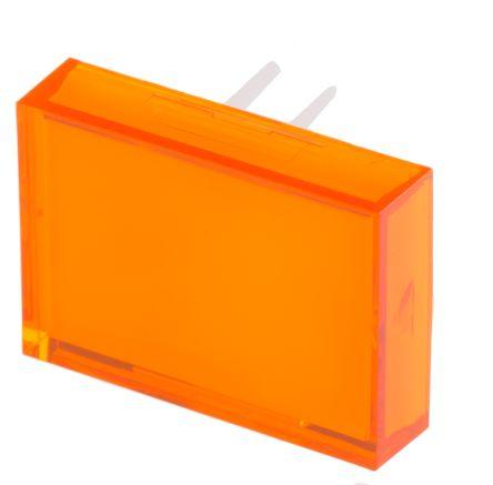 Rectangular orange lens for SD16 series