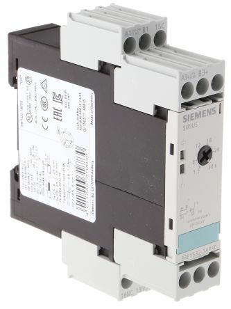 Siemens OFF Delay Single Timer Relay, , 1.5 → 30 s, SPDT, 1 Contacts, on
