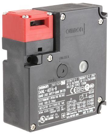 D4NL-4EFA-B Omron | D4NL Solenoid Interlock Switch Power to Unlock on timer wiring diagram, dayton furnace wiring diagram, bourns wiring diagram, veeder root wiring diagram, grundfos wiring diagram, toshiba wiring diagram,