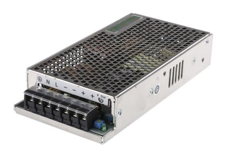 Phaseo DIN Rail Panel Mount Power Supply, 100W, 12V dc/ 8.3A