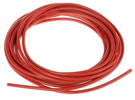 RS PRO Unshielded Test Lead Wire 1 mm² CSA 500 V Red PVC, 199 Strands 5m