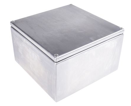 RS PRO Junction Box, IP66, 200mm x 120mm x 200mm