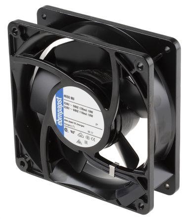4000N Series Axial Fan, 119 x 119 x 38mm, 160m³/h, 19W, 230 V ac, IP54 product photo