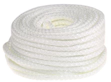 Flame Retardant Glass Fibre Yarn Thermal Insulating Rope, 30m x 12mm