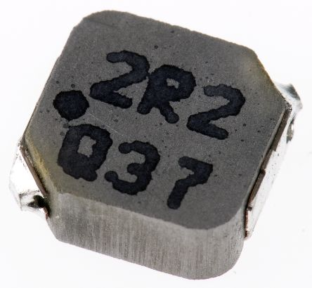 Panasonic ETQP3W Series Type 0630 Wire-wound SMD Inductor with a Metal  Composite Core, 2 2 μH ±20% Wire-Wound 5 8A Idc