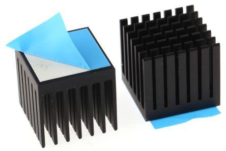 Heatsink, BGA, 14K/W, 20 x 20 x 19.1mm, Adhesive Foil
