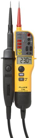T130 Voltage Indicator with RCD Trip Test Continuity Check CAT III 690 V, CAT IV 600 V