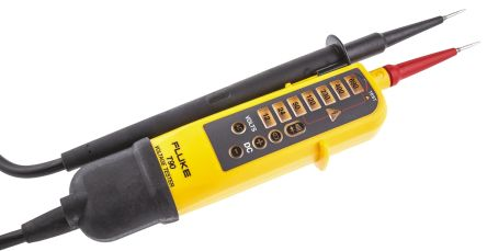 Fluke T90 Voltage Indicator with RCD Trip Test Continuity Check CAT II 690 V, CAT III 600 V