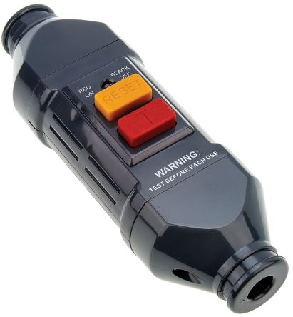 Inline Mains RCD Connector Adapter 2 Pole ,Rated At 13A,240 V ac product photo