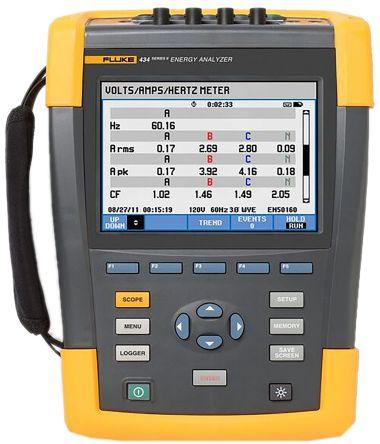 434-II Power quality & energy analyser
