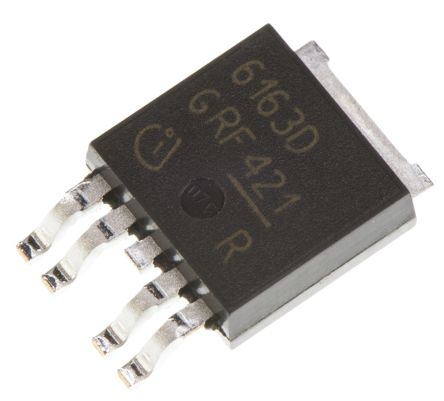Infineon BTS6163DAUMA1, Dual-Channel Intelligent Power Switch, High Side, 21.5A, 5.5 → 62V 5-Pin, TO-252