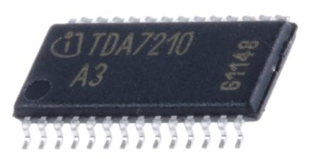 Infineon TDA7210XUMA1, RF Transceiver IC 400MHz to 440MHz Dual Band 28-Pin TSSOP