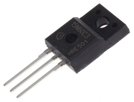 Infineon SPA15N60C3XKSA1 N-channel MOSFET 15 A 650 V CoolMOS C3 3-Pin