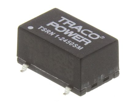 TRACOPOWER Switching Regulator, 4.6 → 31 V dc, 6.5 → 42 V dc Input, ±5V dc Output, 1 A, 400 mA