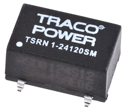 TRACOPOWER Switching Regulator, 13.5 → 42 V dc, 7 → 24 V dc Input, ±12V dc Output, 1 A, 300 mA