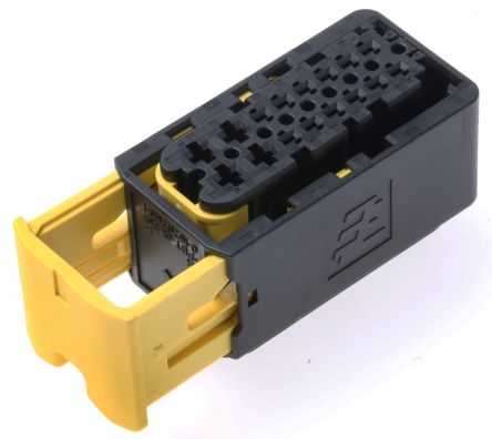 TE Connectivity AMP MCP 1.5/2.8 Series, 2 Row 16 Way Cable Mount Socket Connector, with Crimp Termination Method