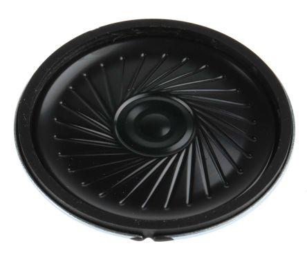 RS PRO 32Ω 0.25W Miniature Speaker 45mm Dia. 45 x 5.8mm (LxWxD)