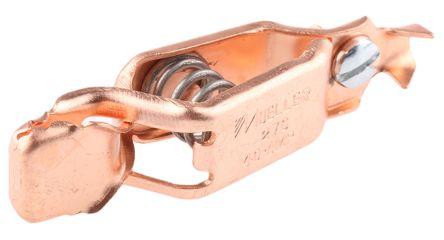 Mueller Grabber Clip, Copper Contact, 40A, Natural